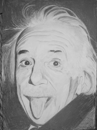 Albert Einstein by chikakx